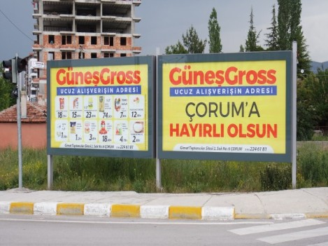 Billboard imalatı